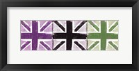 Union Jack Three Square II Framed Print