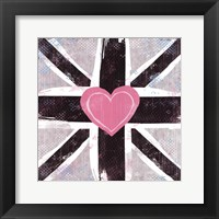 Union Jack Heart I Framed Print