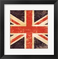 Framed British Flag