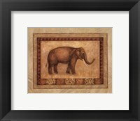 Framed Asian Elephant