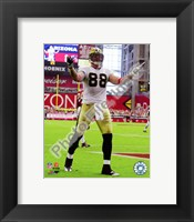 Framed Jeremy Shockey 2010 Action