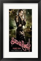 Sucker Punch - Sweet Pea Framed Print