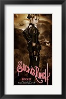 Sucker Punch - Rocket Framed Print