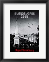 Battle: Los Angeles Framed Print