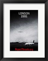 Battle: Los Angeles - London 1991 Framed Print