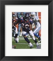 Framed Brian Dawkins 2010 Action