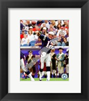 Framed Tom Brady 2010 throwing