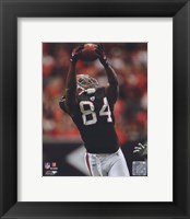 Framed Roddy White 2010 Action
