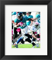 Framed Mike Sims-Walker 2010 Action