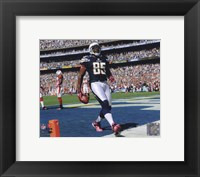 Framed Antonio Gates 2010 Action