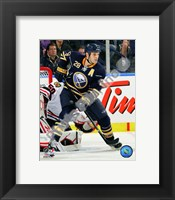Framed Paul Gaustad 2010-11 Action