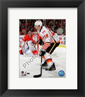 Framed Matt Stajan 2010-11 Action