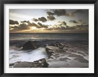 Framed Spledid Sunrise