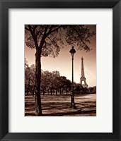 Framed Afternoon Stroll - Paris I