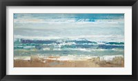 Framed Pastel Waves