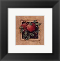 Apple Square Framed Print