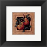 Pear Square Framed Print