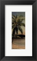 Framed Palm at Seaside