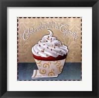 Framed Cupcake II