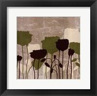 Framed Floral Simplicity II