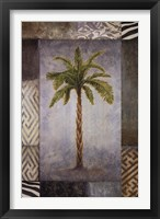 Sun Palm I Framed Print