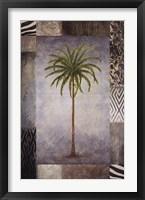 Sun Palm II Framed Print