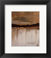 Melting Gold I Framed Print
