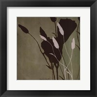 Framed Fleur'ting Silhouettes III