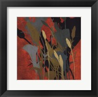 Urban Meadow II Framed Print