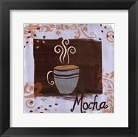 Mocha Framed Print
