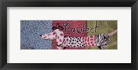 Pawfect Framed Print
