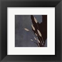 Fleur'ting Sihlouettes II Framed Print