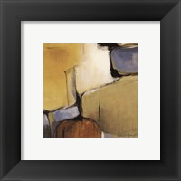 Gold Canyon III detail Framed Print