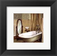 Framed Green Farmhouse Bath II
