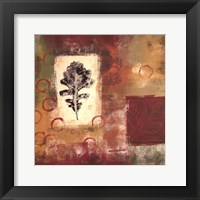 Leaf Elements II Framed Print
