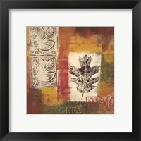 Leaf Elements III Framed Print