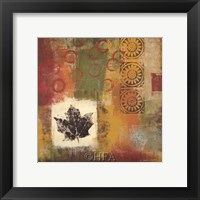 Leaf Elements IV Framed Print