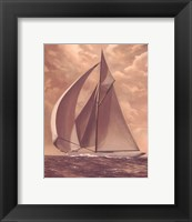 Tradewind Run Framed Print