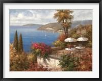 Framed Mediterranean Patio