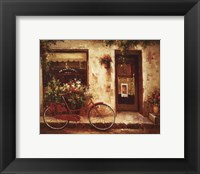 Stopping In Framed Print