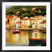 Framed Le Vieux Port
