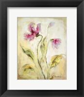 Framed Petals I