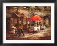 Framed Cafe Beau Monde
