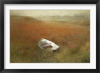Framed White Skiff