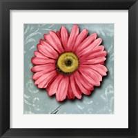 Framed Blooming Daisy IV