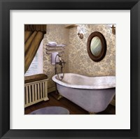 Farmhouse Bath I Framed Print
