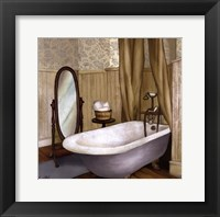 Farmhouse Bath II Framed Print