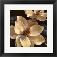 Blooming Magnolias I Framed Print