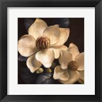 Framed Blooming Magnolias II