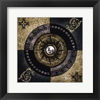 With the Moon Framed Print